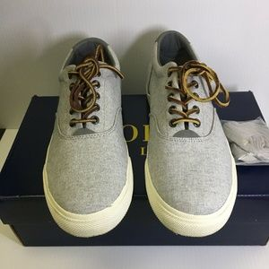 Polo Ralph Lauren Size 10.5 FAXON LOW Linen